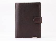 Dr.koffer soft cow leather passport with holder for men and women