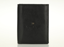 HASSION vegetable leather bilfold wallet with 2 flap for men