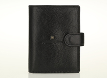 HASSION  Multi-functional  men's wallet with passport and clasp